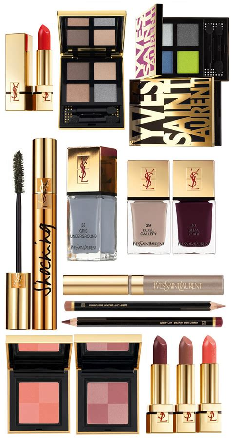 best ysl makeup products yves laurent fall 2013 by lynny
