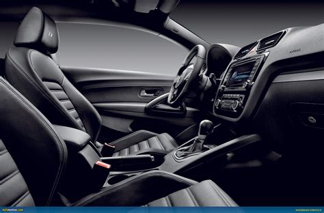 Black Car Interior by Ausmotive 187 Volkswagen Scirocco R Official Details
