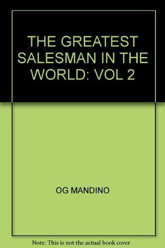 The Greatest Salesman In The World Vol 2 uzhoham free pdf the greatest salesman in the world