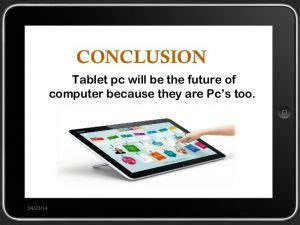 tablet pc can be the future of computers techyv.com