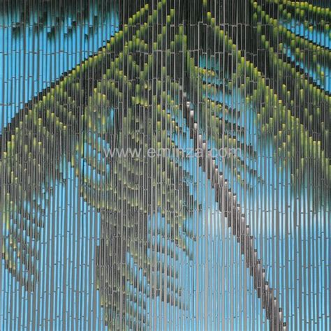 rideau de porte 90 x h200 cm bambou palmier rideau de