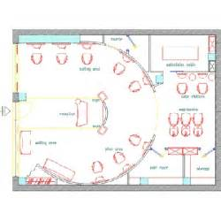 Floor Plan Of A Salon 2d plan salon floor plans gamma amp bross