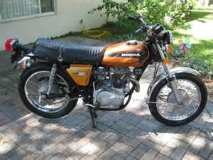 Honda Cl360 Buy 1975 Honda Cl360 Cl 360 Scrambler No Reserve On 2040 Motos