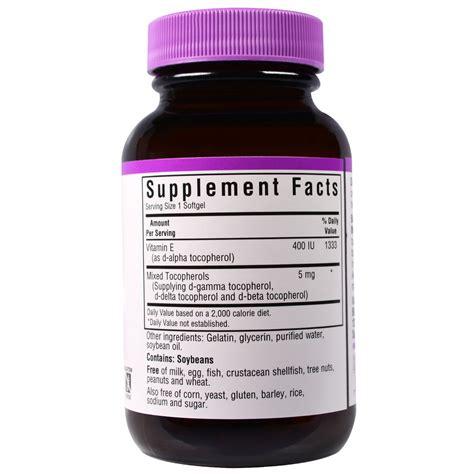 Vitamin Nourish E 400 Iu bluebonnet nutrition vitamin e 400 iu 50 softgels iherb