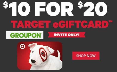 Target Gift Card Groupon - 20 target gift card only 10 select groupon accounts only heavenly steals