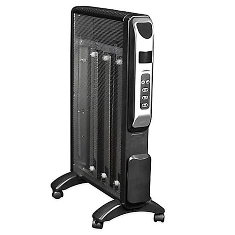 bed bath and beyond space heater buy newair flat panel micathermic space heater from bed