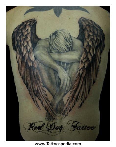 Guardian Angel Tattoo Johnny | angel tattoos