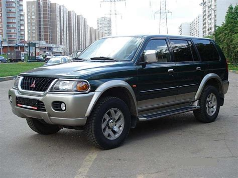 mitsubishi shogun 2000 2000 mitsubishi pajero sport pictures information and