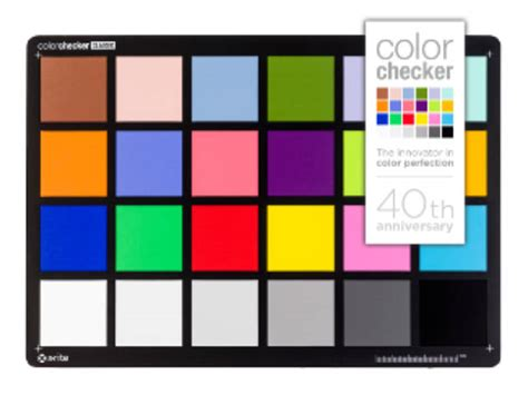 colorchecker calibration xrite colorchecker