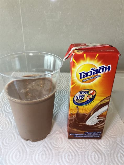 Ovaltine Swiss Formula With Chocolate Thailand ovaltine milk uht thailand afoolzerrand