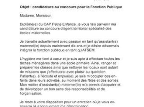 Exemple Lettre De Motivation Fonction Publique Lettre De Motivation Concours Fonction Publique Par Lettreutile