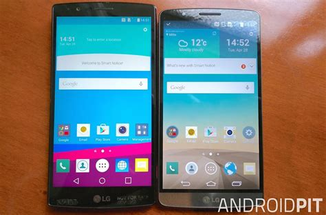 Hp Lg G3 G4 Lg G4 Vs Lg G3 Comparison Are They Really Different Androidpit