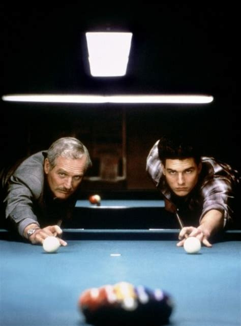 film tom cruise e paul newman paul newman and tom cruise the color of money 1986