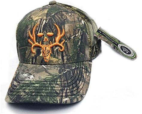 Bone Collector Realtree Xtra Camo Blaze Orange Logo Mesh Camo Bone Collector