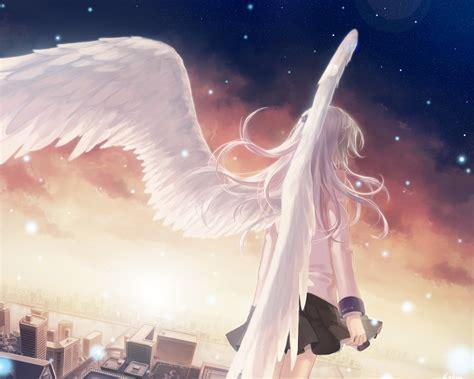 anime girl angel wings kanade wallpaper angel beats wallpaper 33302382 fanpop
