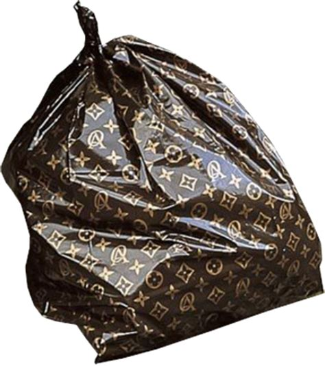 louis vuitton garbage bag 7 with purse psd images shopping vector