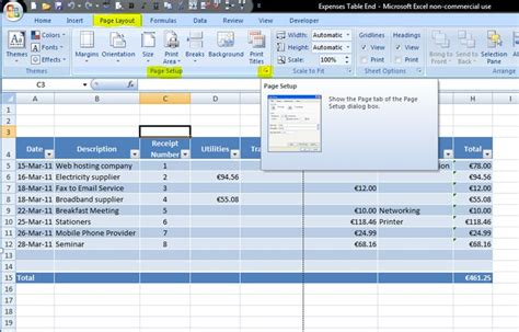 excel page layout show header how to change header margins in excel 2010 10 steps to