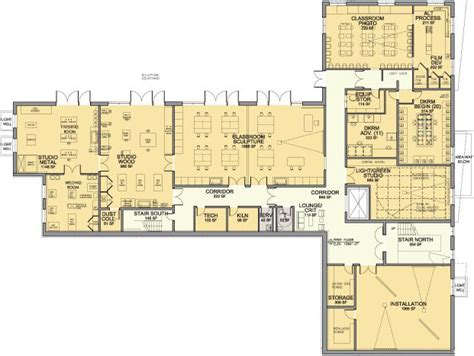 art studio floor plans 20 best images about design art studios fabrication lab