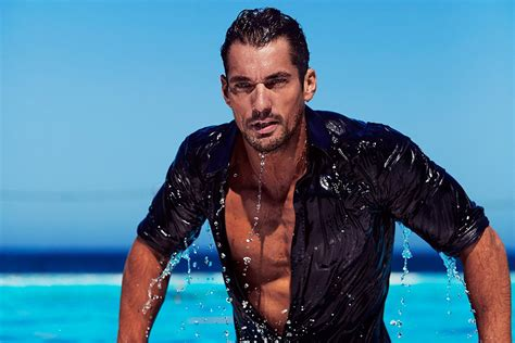 Property Brother supermodel david gandy gets cheeky in new d amp g campaign