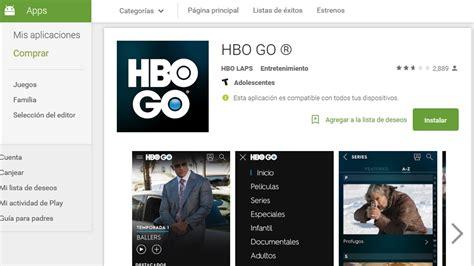 hbo go android tv hbo go ahora puede verse fuera cable en la argentina pero en algunas zonas ovrik