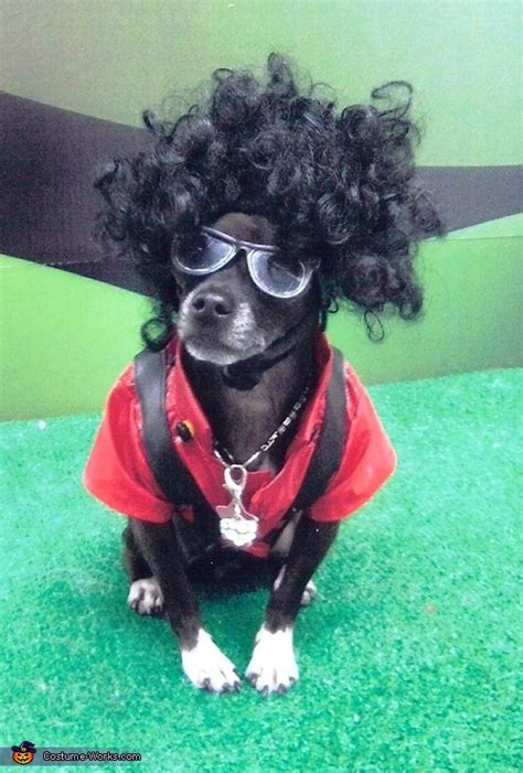 michael jackson thriller halloween costume  dogs