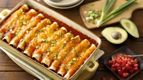 easy beef enchiladas recipe pillsbury com