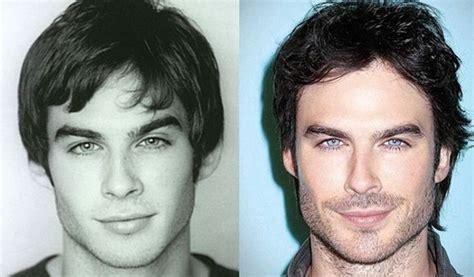 ian somerhalder face shape ian somerhalder plastic surgery before and after ian
