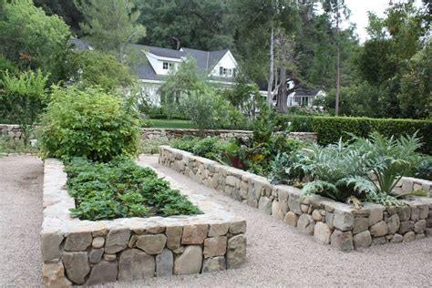 Rock Vegetable Garden Raised Garden Beds With Edging Paul Hendershot Design I Can Right Easier Said