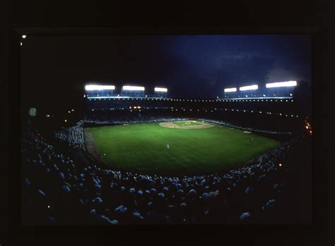 a night at field of light cubs win after historic game 7 of the world series here