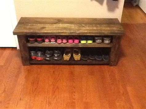building a shoe rack bench honestly i feel like i could make this farmhouse shoe
