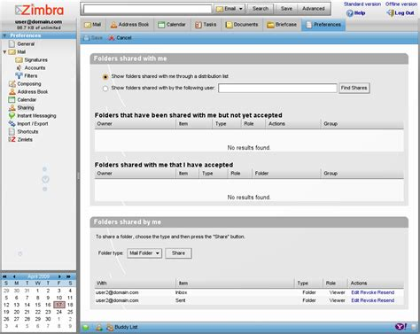 registro 2009 upload share and discover content on zimbra collaboration suite 6 0 beta codename guns n
