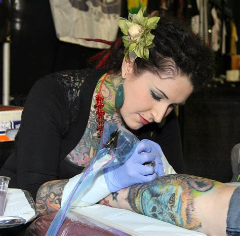 tattoo artist pictures 10 female tattoo artists proving ink is way more than a