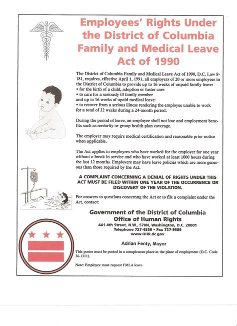 printable fmla poster fmla maternity leave form gallery form exle ideas
