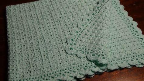 100 piastrelle all uncinetto copertina verde acqua all uncinetto in pura vergine