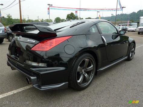 nissan nismo 2007 2007 magnetic black pearl nissan 350z nismo coupe