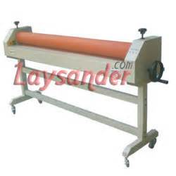 Mesin Laminating Manual alat penunjang bisnis digital printing laysander technology