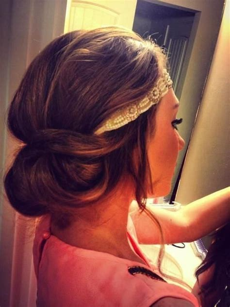 tuck in hairstyles 25 best ideas about hairstyles with headbands on