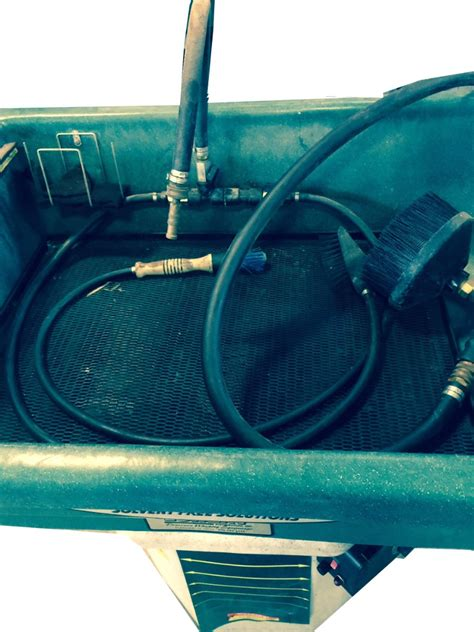 heated parts washer renegade 20 gallon heated parts washer new pump