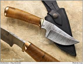 cossack blades all our knives are handmade - Handmade Knife Blades