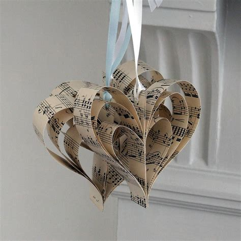 Handmade Decoration - handmade sheet decoration by made in words