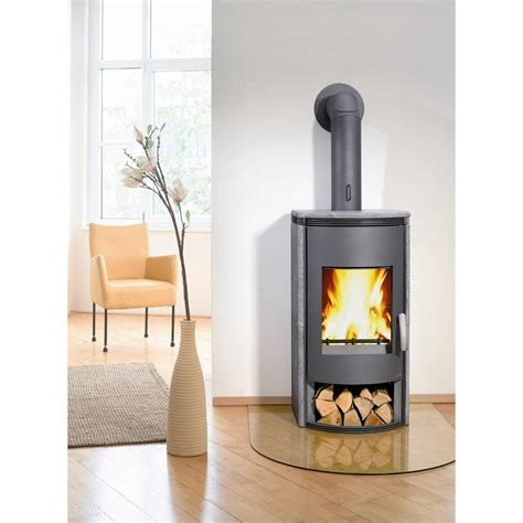 Poela A Bois by Po 234 Le 224 Bois Wamsler Wega Anthracite Ollaire 8 Kw