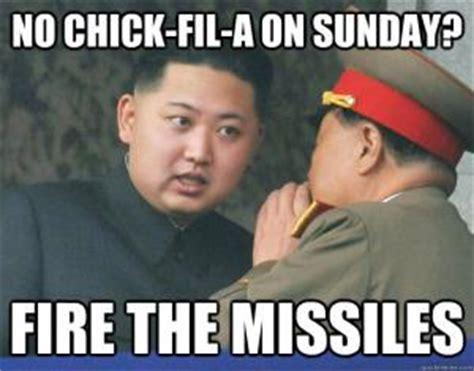 Chick Fil A Meme - kim jong un jokes kappit