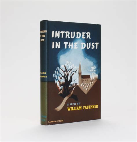 lucius books intruder in the dust by william faulkner signed