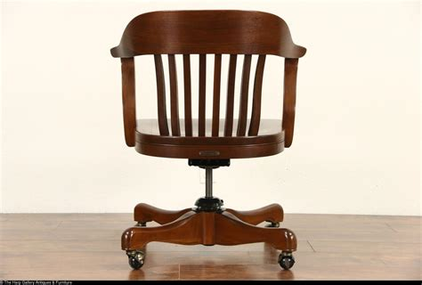 antique wooden swivel desk chair parts antique oak desk chair hostgarcia