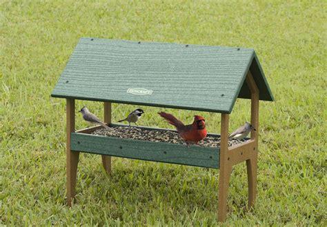 duncraft com eco strong ground tray feeder