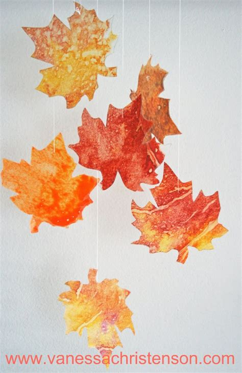 Wax Paper Arts And Crafts - hello wonderful 10 festive fall projects for