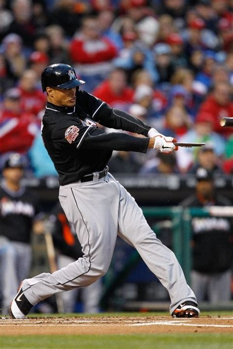 giancarlo stanton swing 17 best images about mlb miami marlins on pinterest