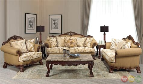 traditional living room sets beverly traditional dark wood formal living room sets with