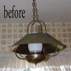 How To Spray Paint A Brass Chandelier Metal Spray Paint Lamp Revamp