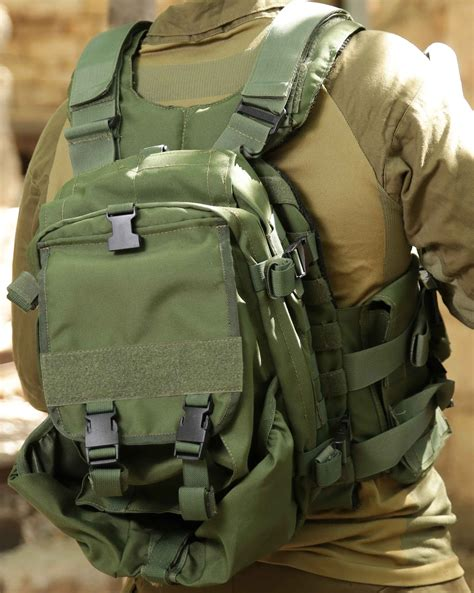 masada armour plate carrier with a backpack